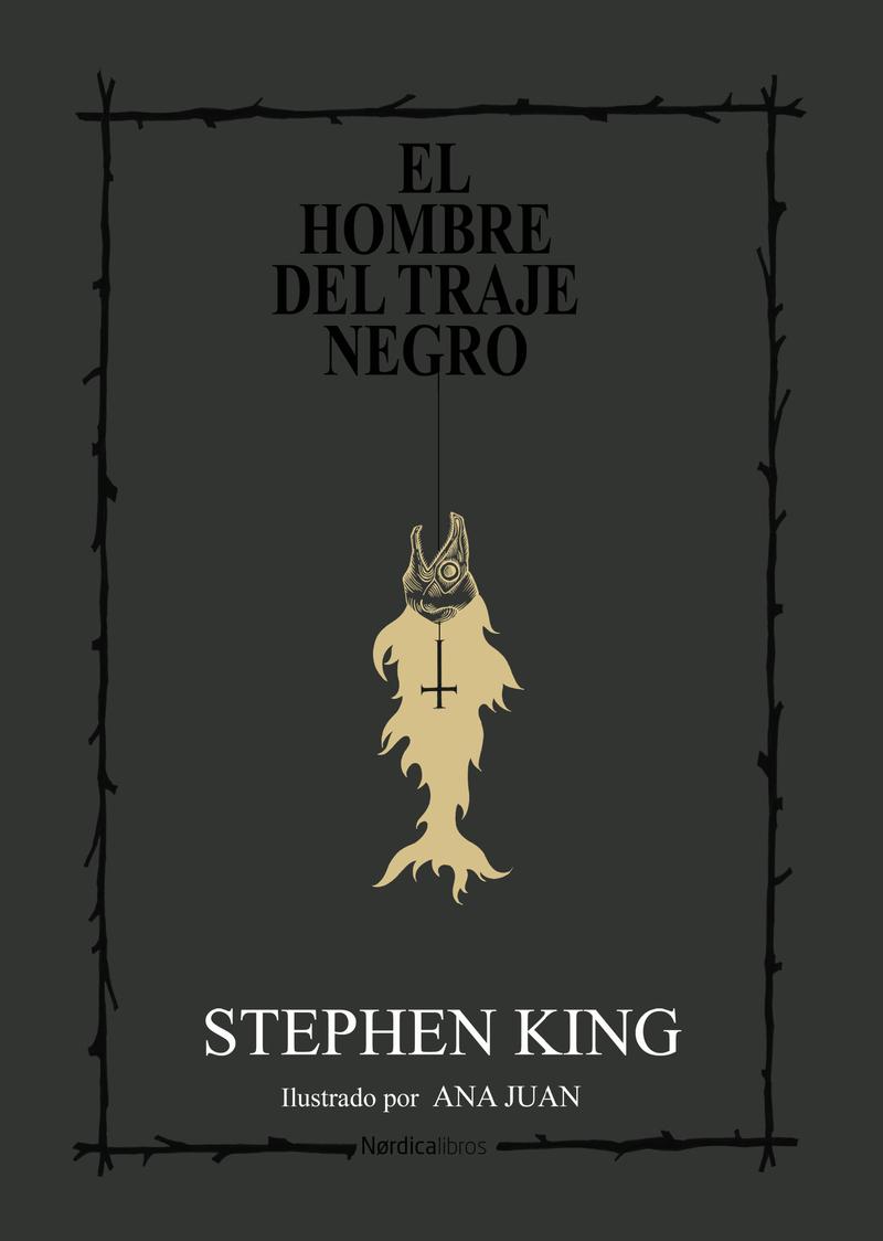 El hombre del traje negro (edición cartoné): portada
