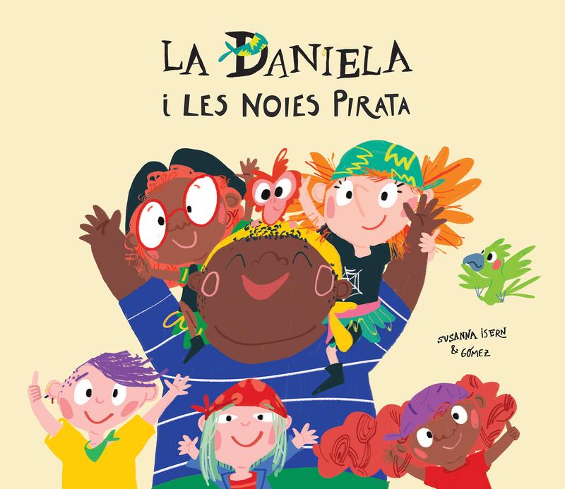 La Daniela i les noies pirata: portada
