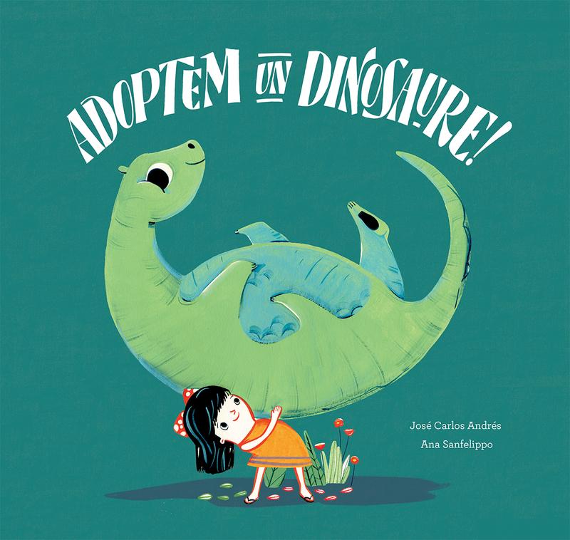 Adoptem un dinosaure!: portada