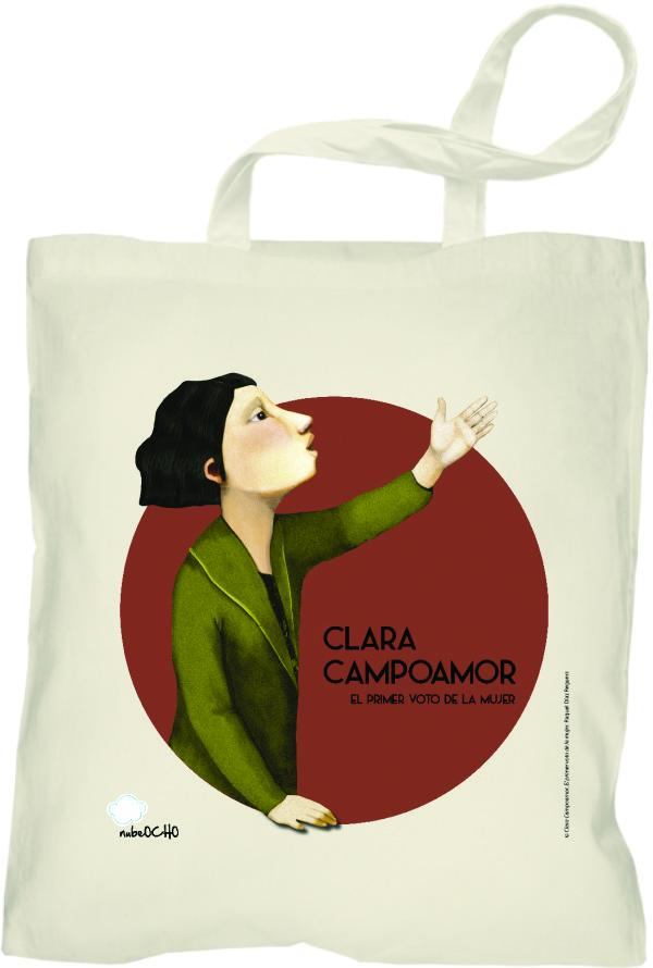 Bolsa Clara Campoamor: portada