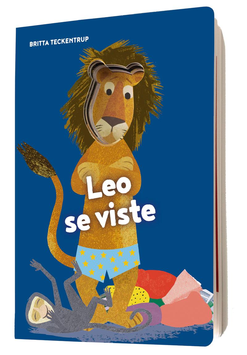Leo se viste: portada