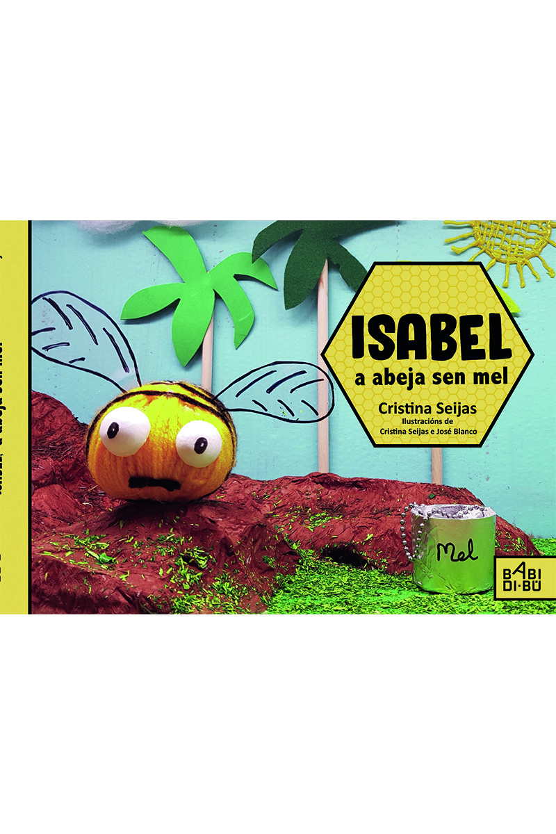 Isabel, a abella sen mel: portada