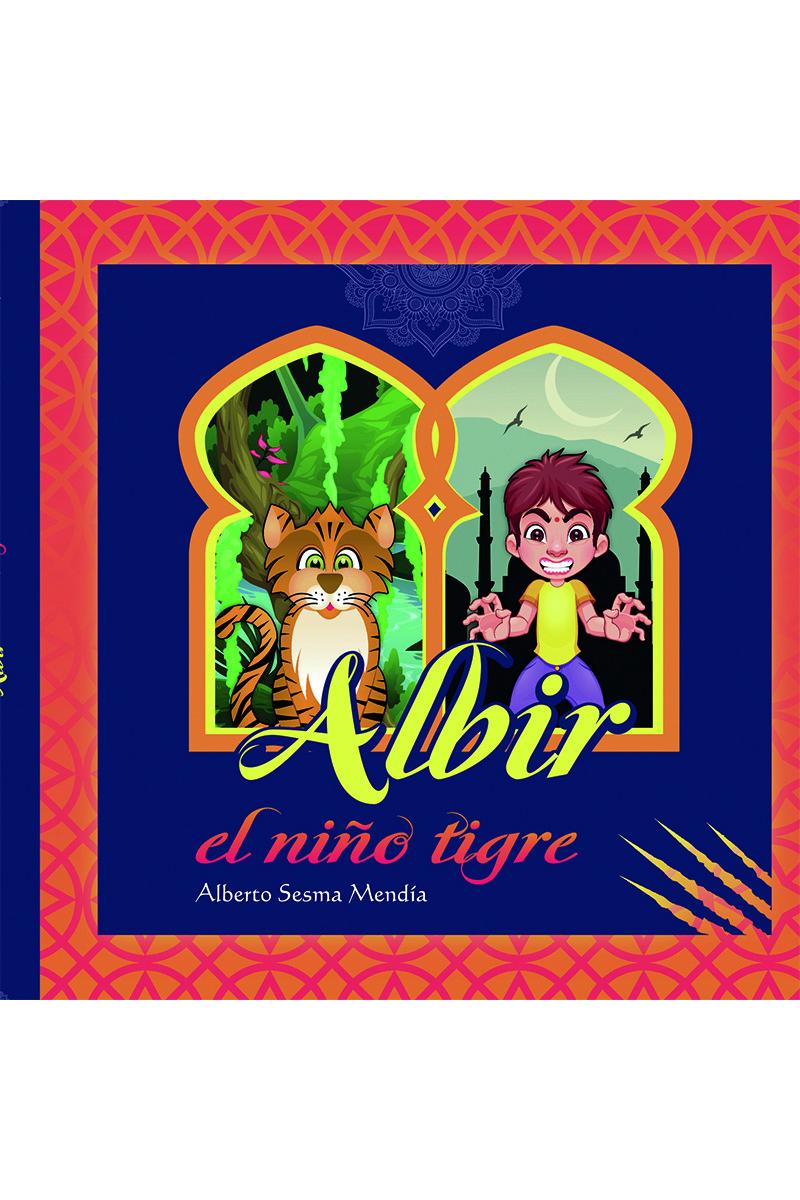 Albir, el niño tigre: portada