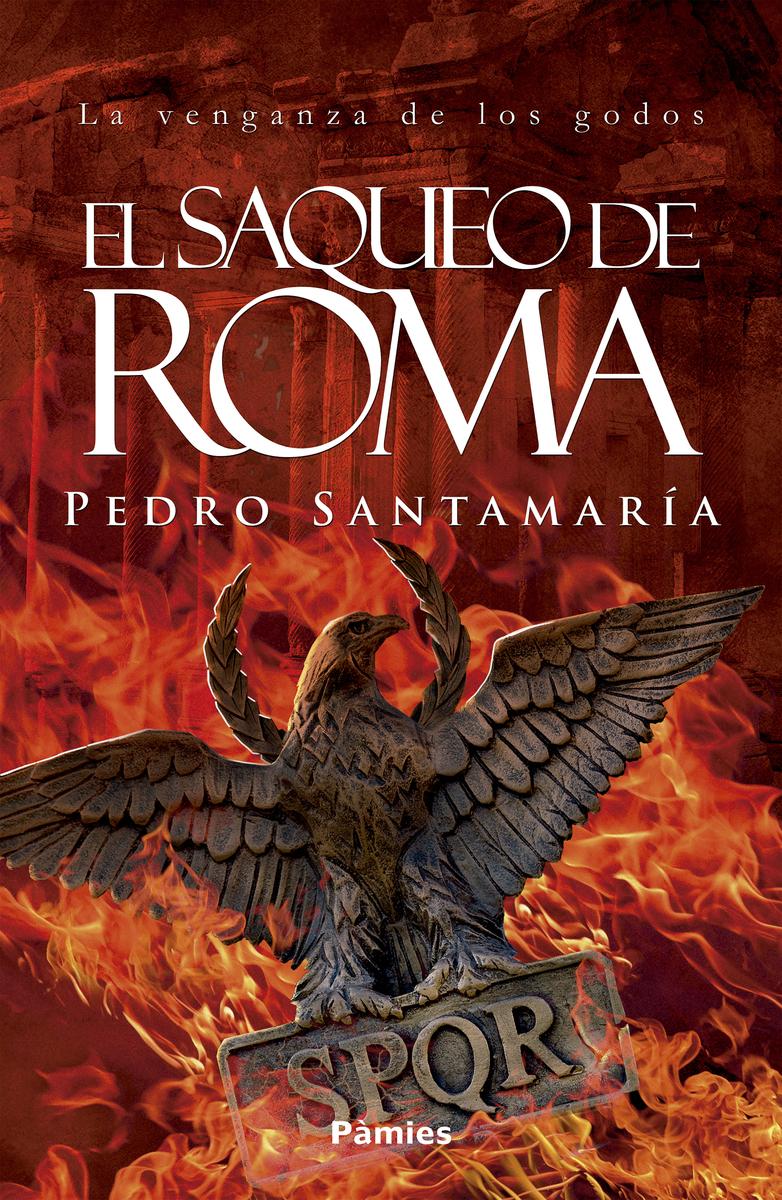 El saqueo de Roma: portada