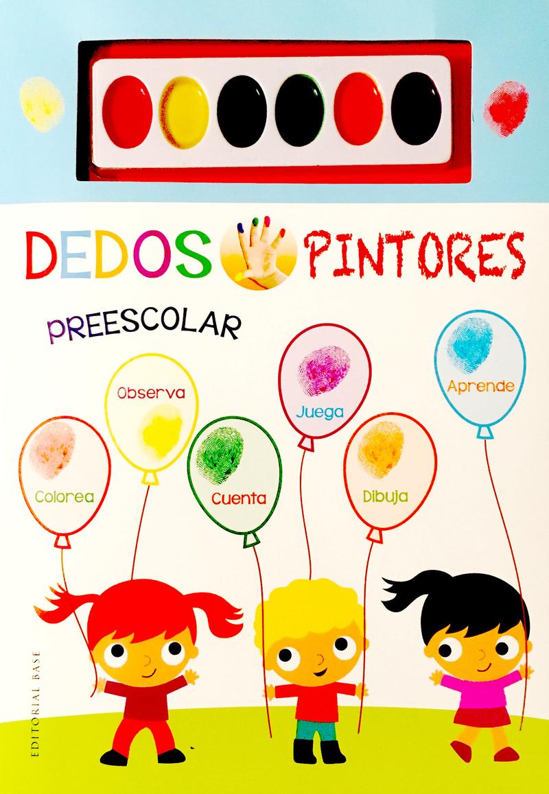 Dedos pintores (los globos): portada