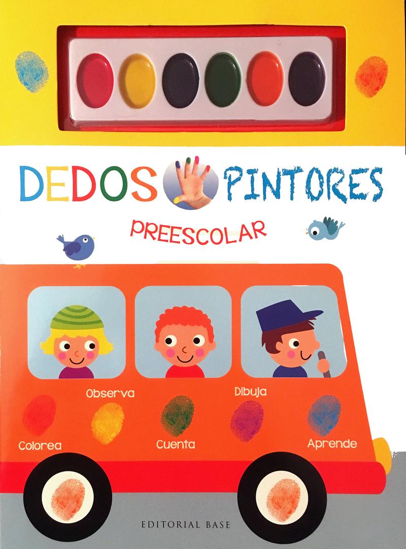 Dedos pintores (el autobús): portada