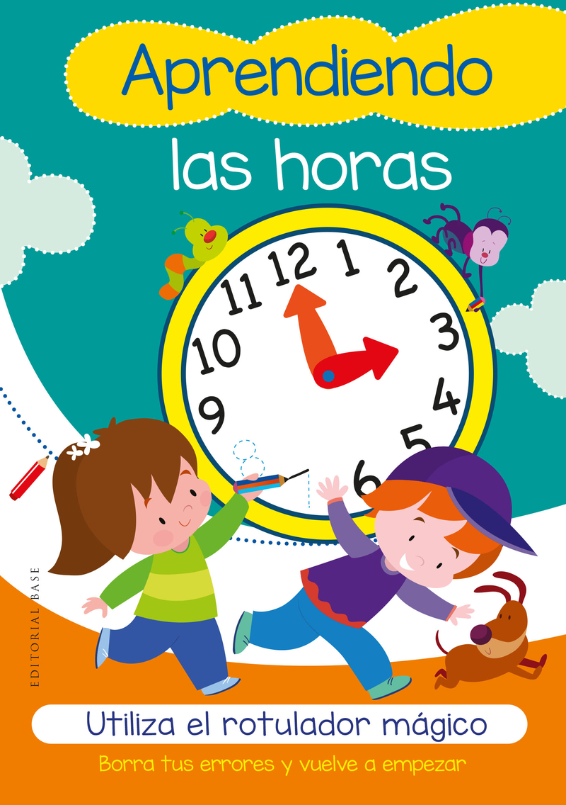 Aprendiendo las horas: portada
