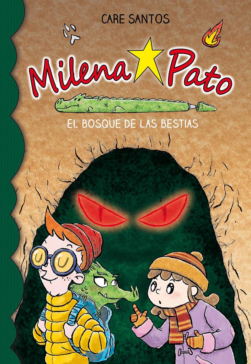 Milena Pato 11. El bosque de las bestias: portada