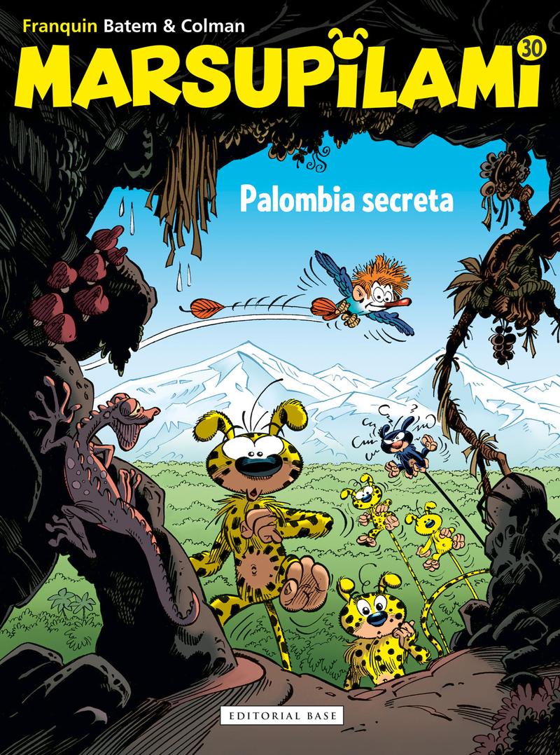 Marsupilami 30. Palombia secreta: portada