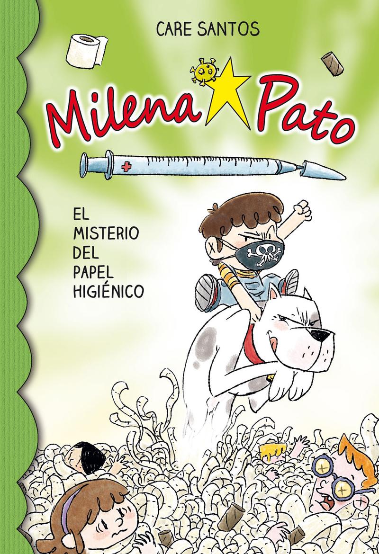 MILENA PATO 12. EL MISTERIO DEL PAPEL HIGIéNICO: portada