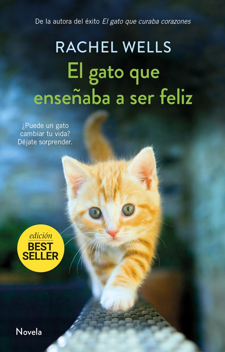 El gato que enseñaba a ser feliz (NE): portada