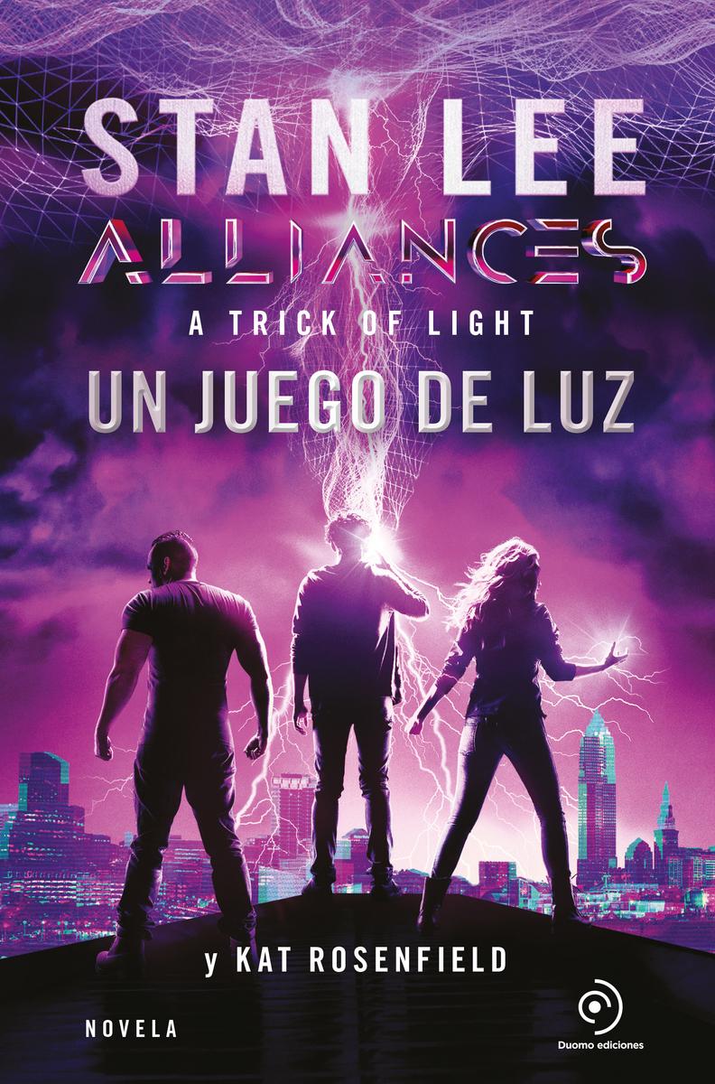 Alliances. Un juego de luz: portada