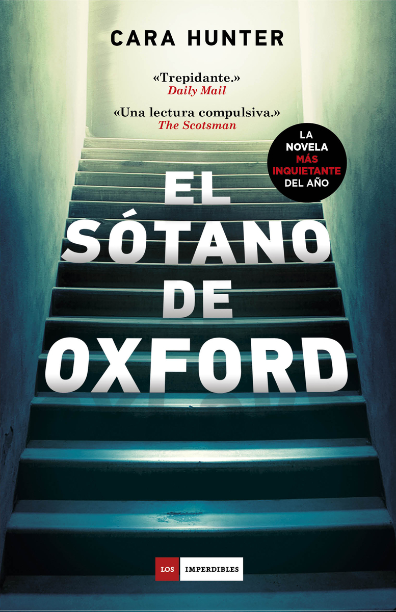 El sótano de Oxford: portada