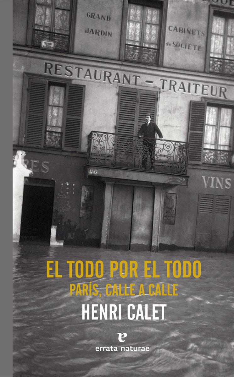 El todo por el todo. París, calle a calle: portada