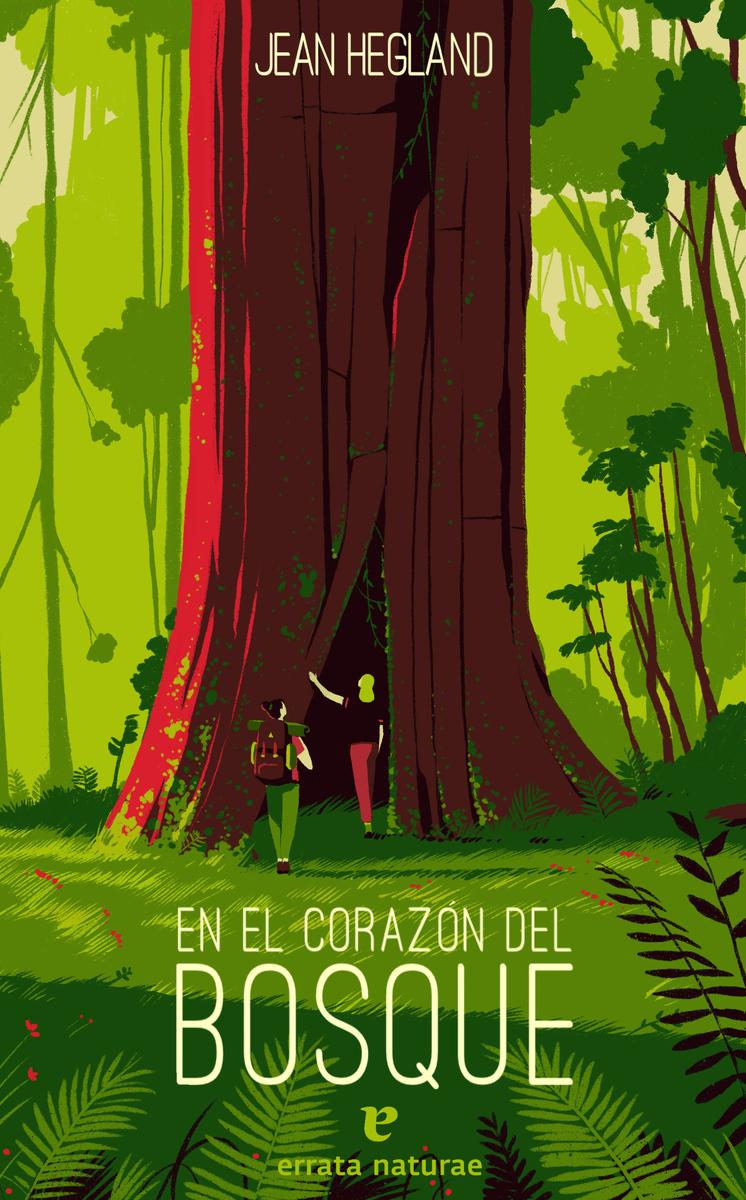 En el corazón del bosque: portada