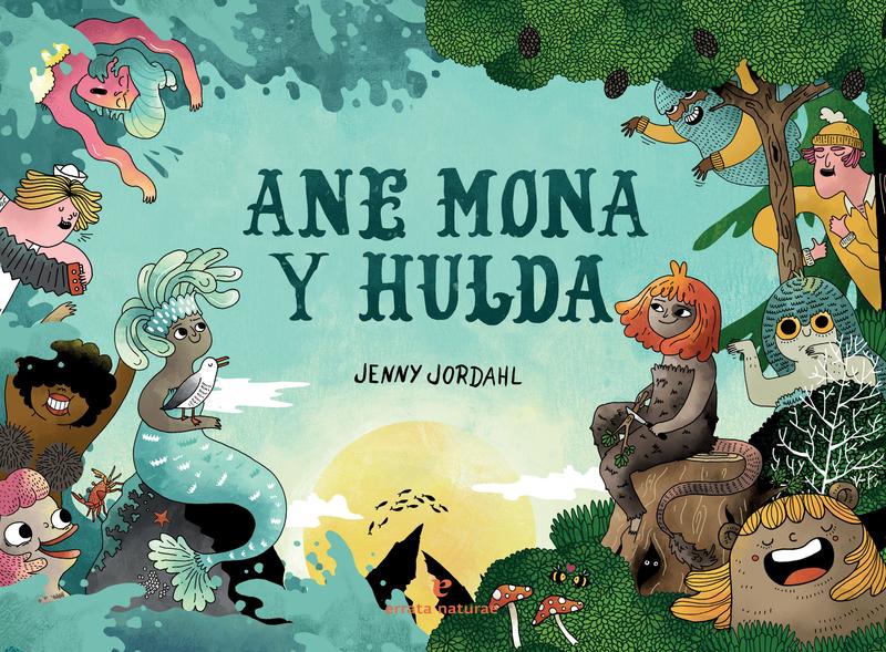Ane Mona y Hulda: portada