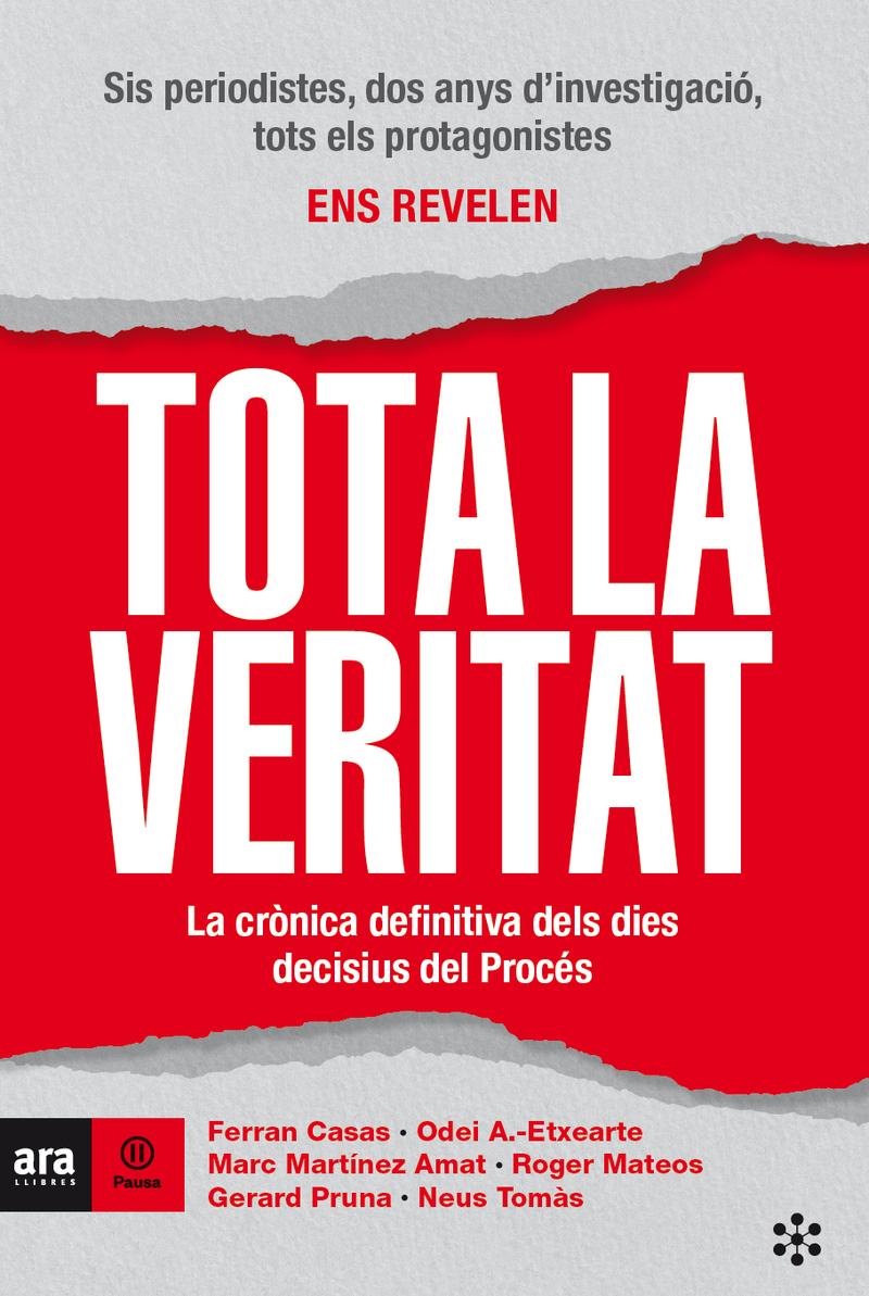TOTA LA VERITAT, 3a Ed: portada