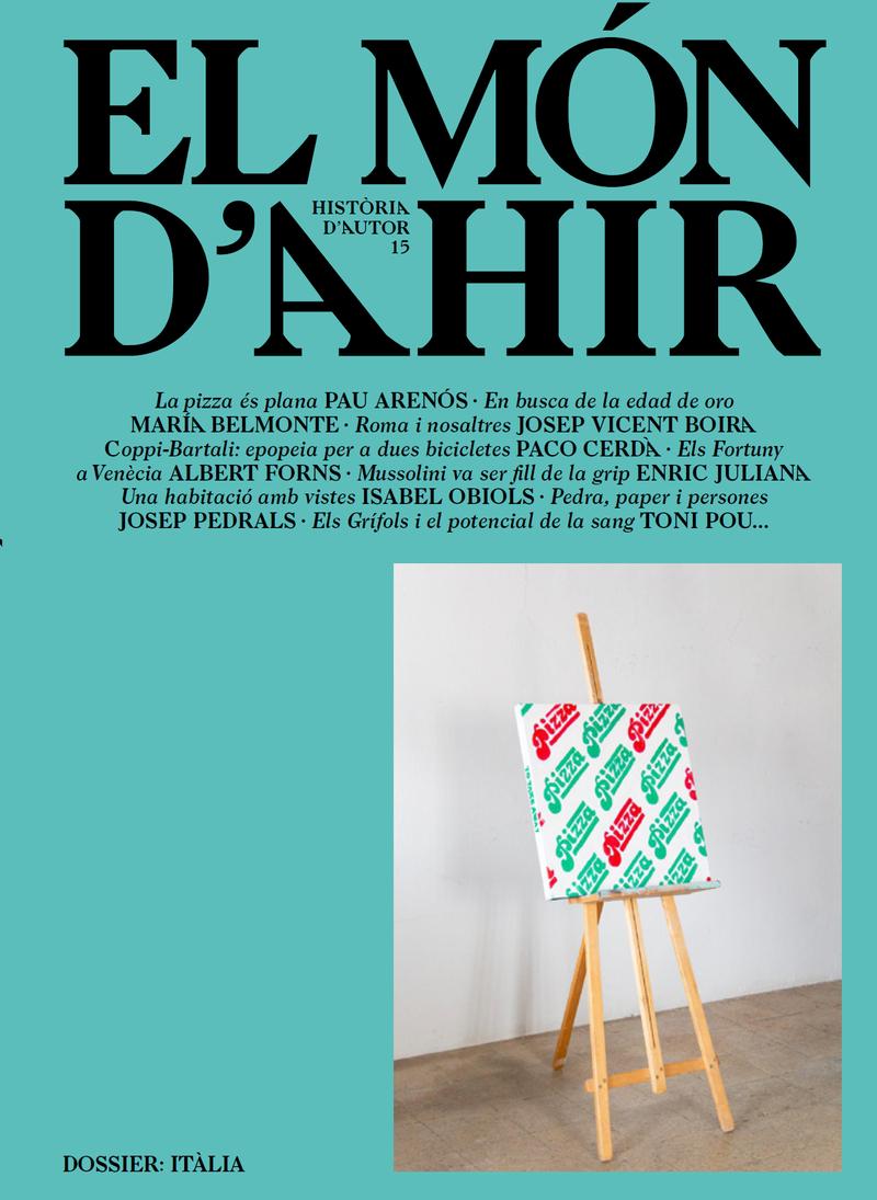 MÓN D'AHIR, EL #15: portada
