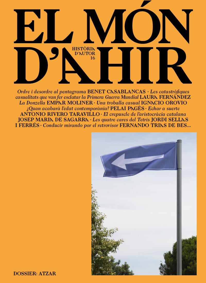MÓN D'AHIR, EL #16: portada