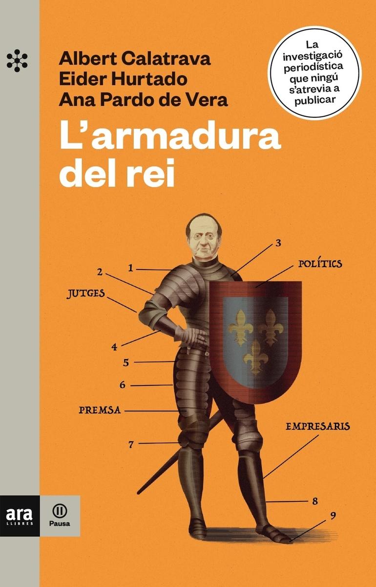 L'ARMADURA DEL REI, (4ª ED): portada