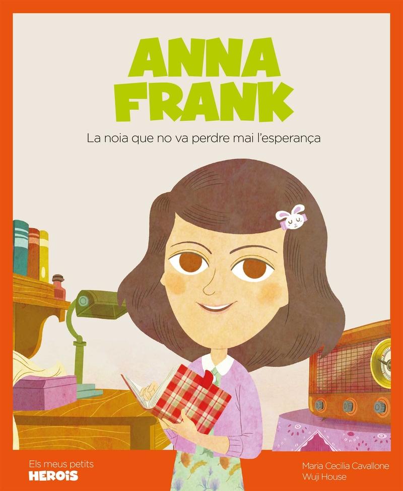Anna Frank (versió CATALÀ): portada