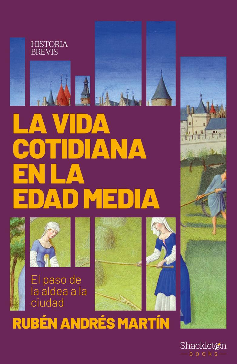 La vida cotidiana en la Edad Media: portada