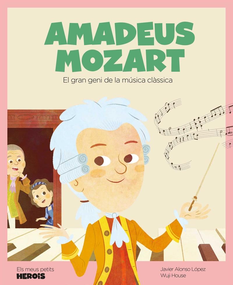 Amadeus Mozart (versió CATALÀ): portada