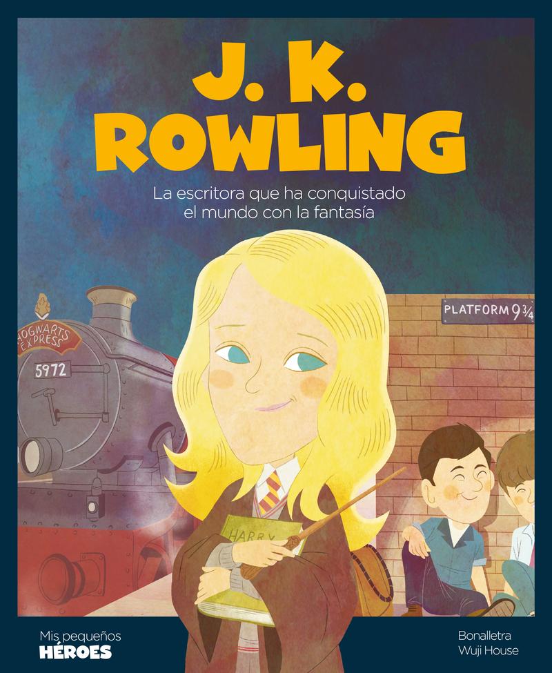 J.K. Rowling: portada