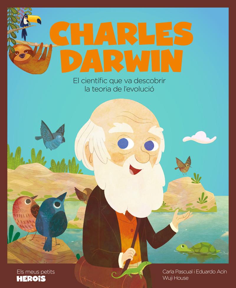 Charles Darwin (versió CATALÀ): portada