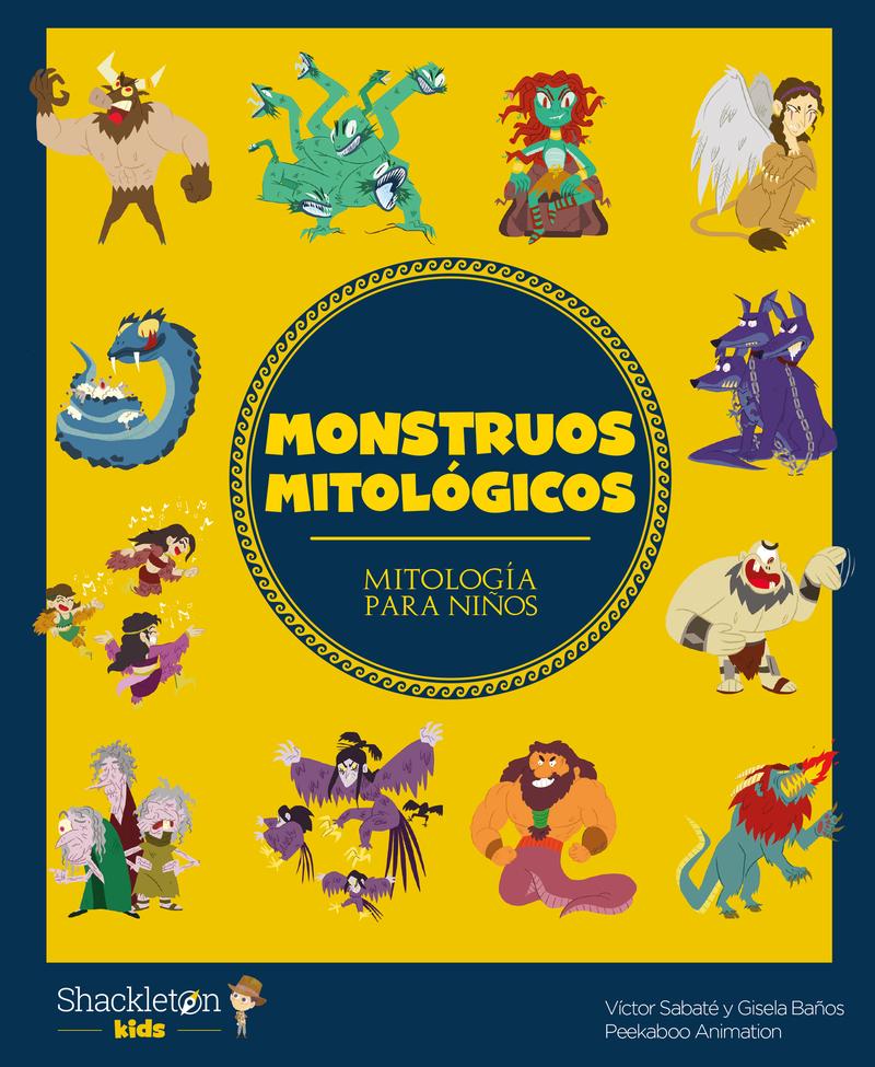 Monstruos mitológicos: portada
