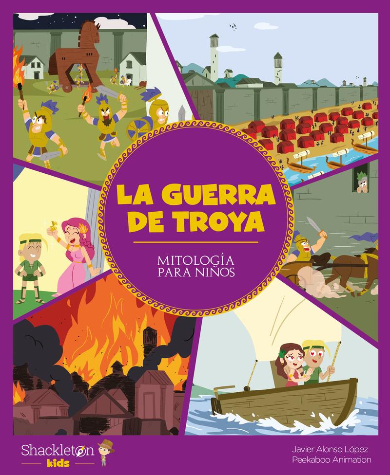 La guerra de Troya: portada
