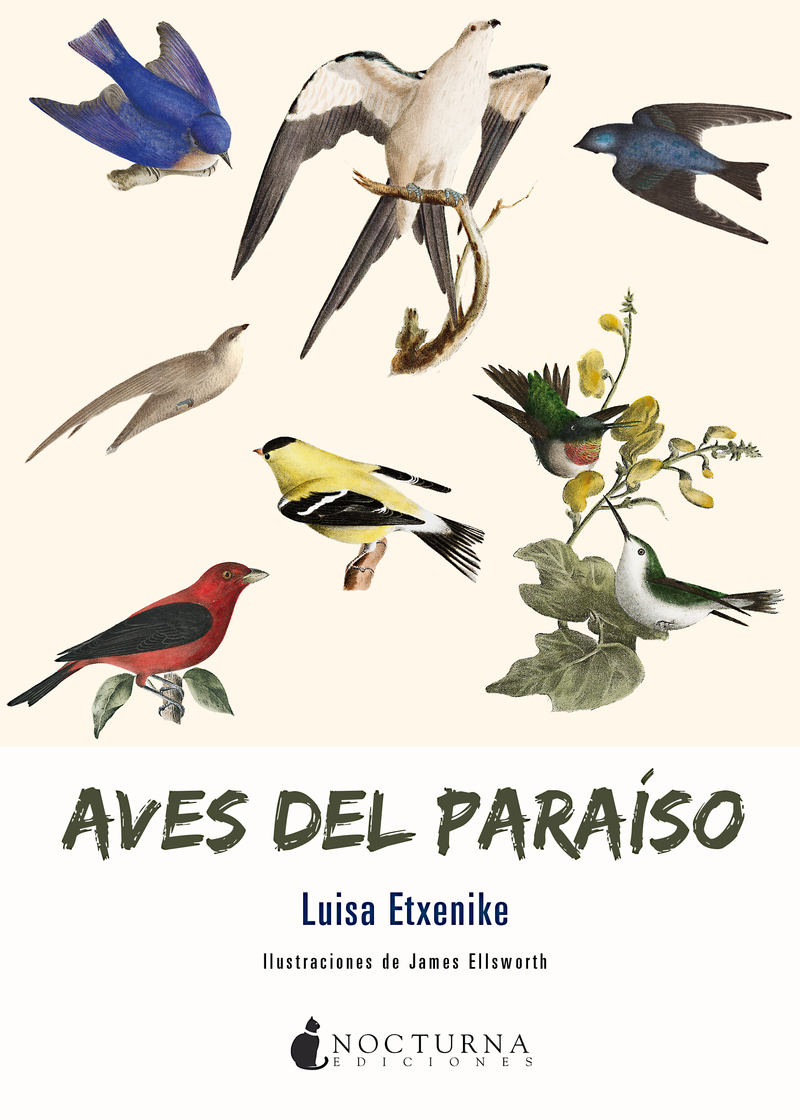 AVES DEL PARAISO: portada