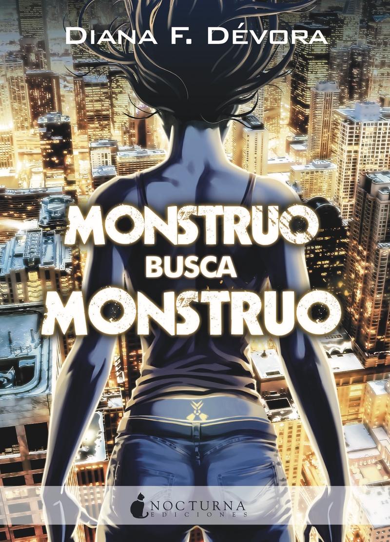 MONSTRUO BUSCA MONSTRUO: portada