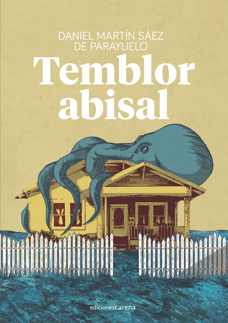 Temblor abisal: portada