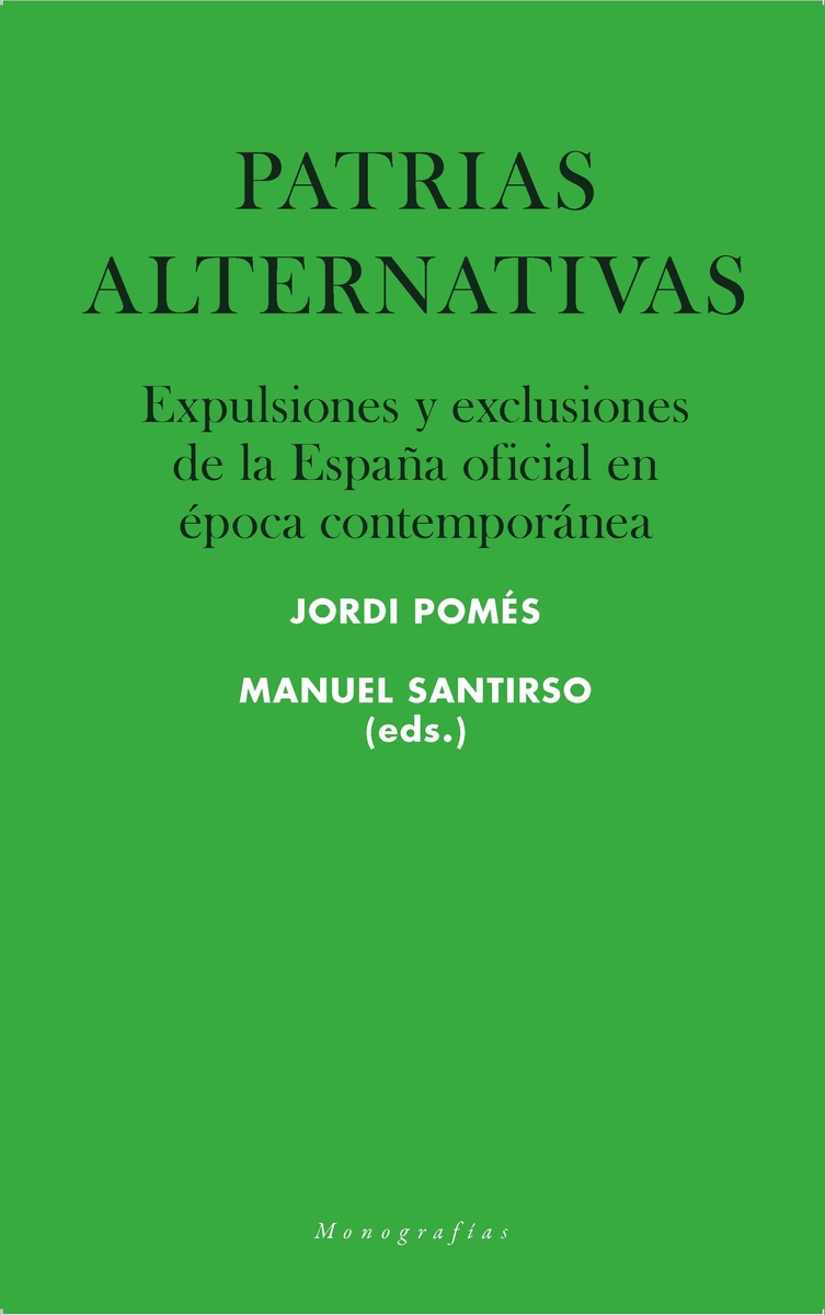 Patrias alternativas: portada