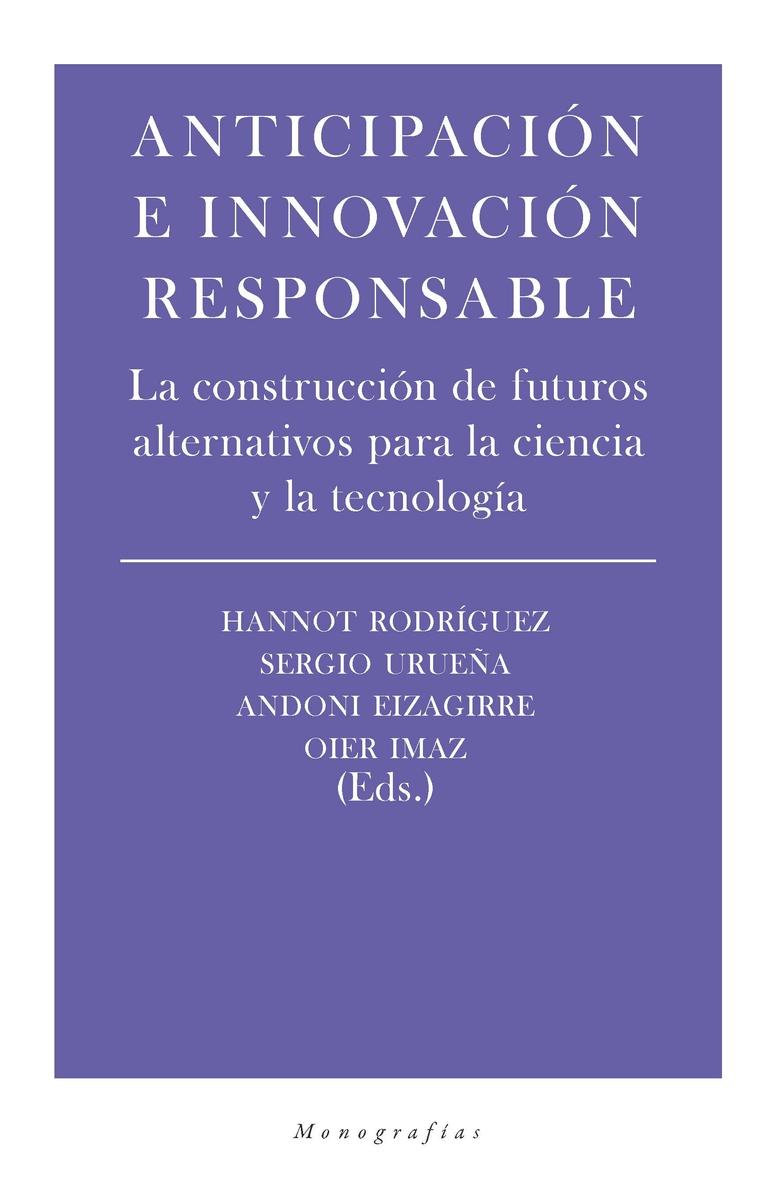 Anticipación e innovación responsable: portada