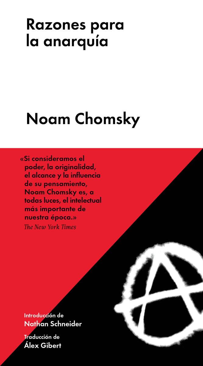 Razones para la anarquía (NE): portada