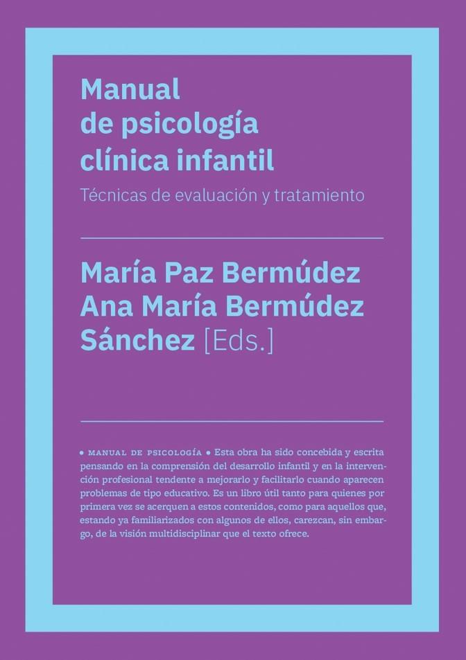Manual de psicología clínica infantil (NE): portada
