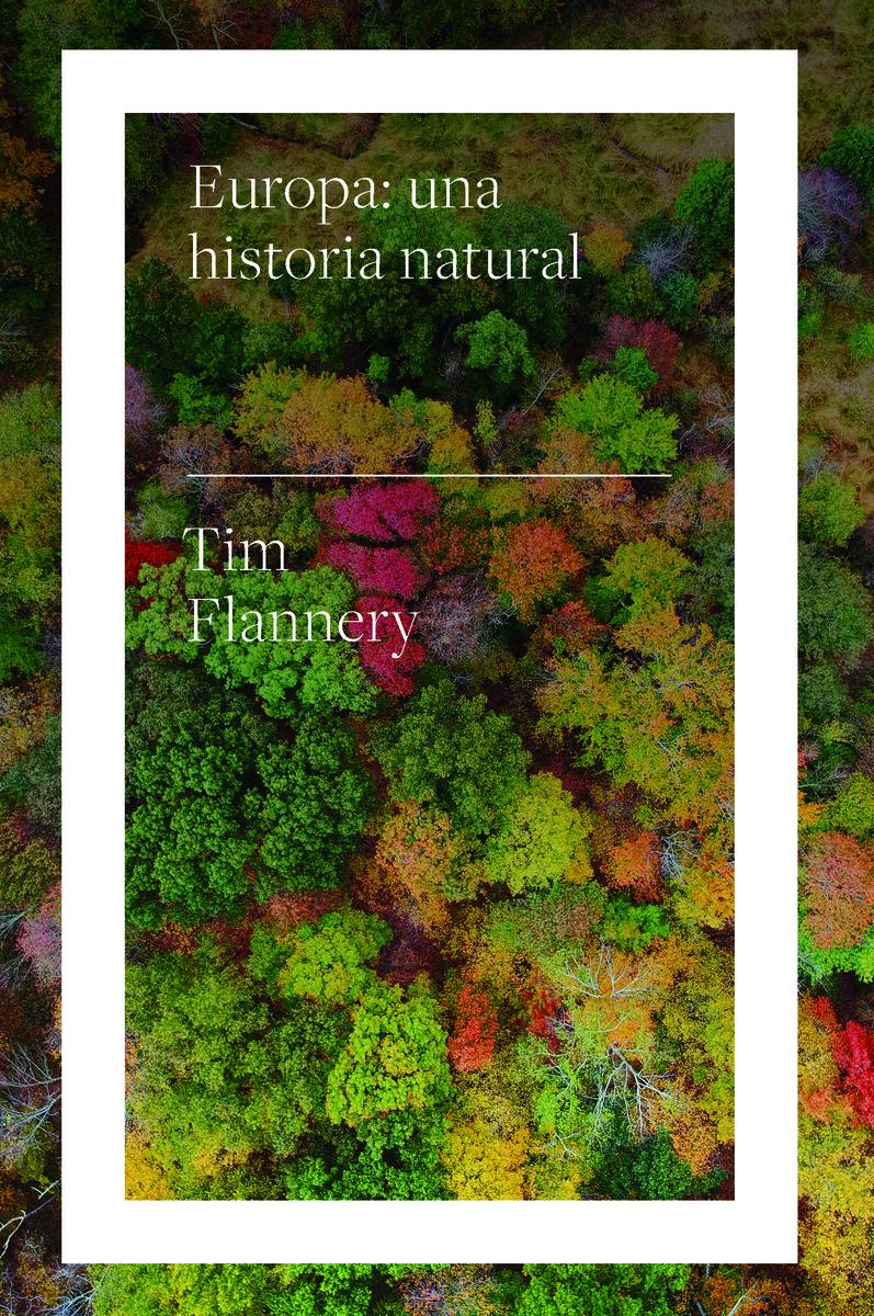 Europa: una historia natural: portada