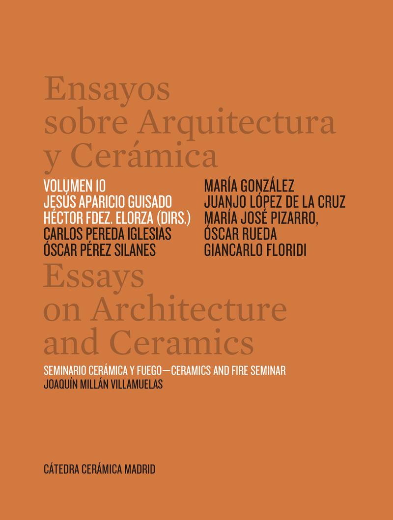 ENSAYOS SOBRE ARQUITECTURA Y CERAMICA VOL 10: portada
