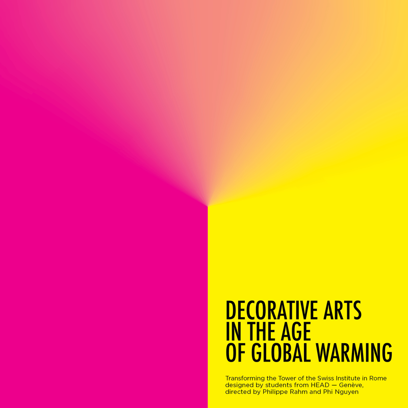 DECORATIVE ARTS IN THE AGE OF GLOBAL WARMING: portada