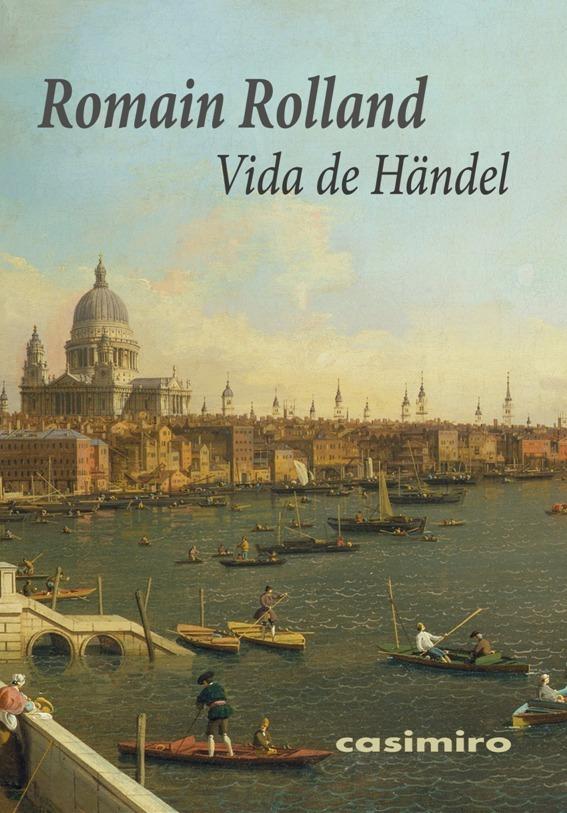 Vida de Händel: portada