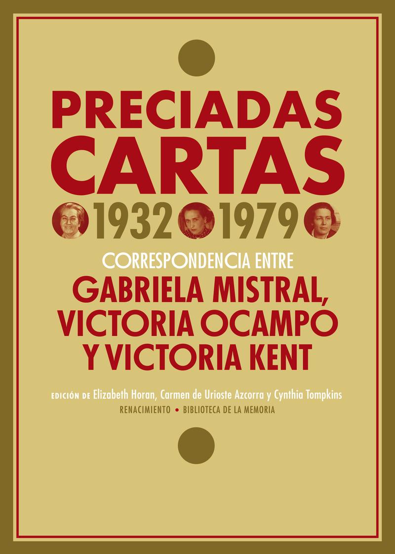 PRECIADAS CARTAS (1932-1979): portada