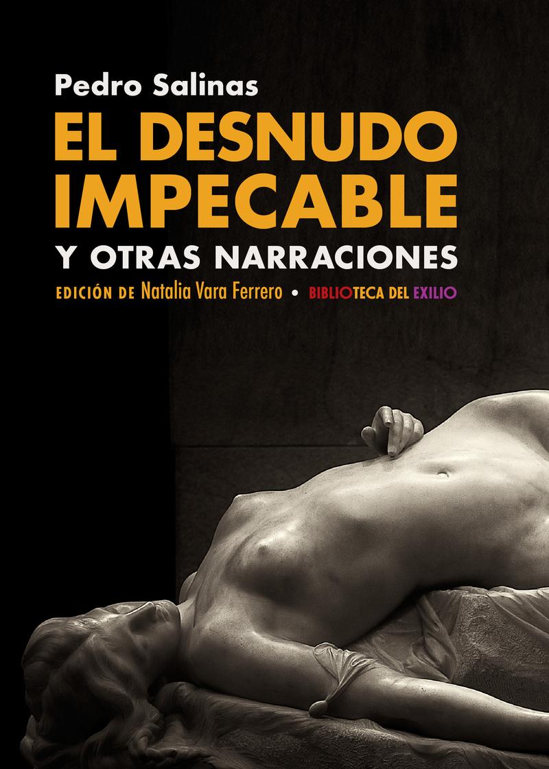 EL DESNUDO IMPECABLE Y OTRAS NARRACIONES: portada