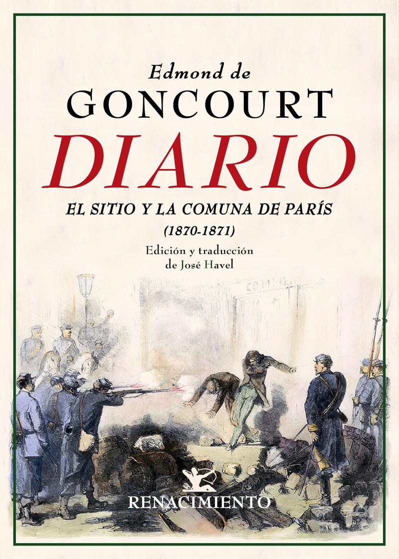 Diario. Memorias de la vida literaria (1870-1871): portada