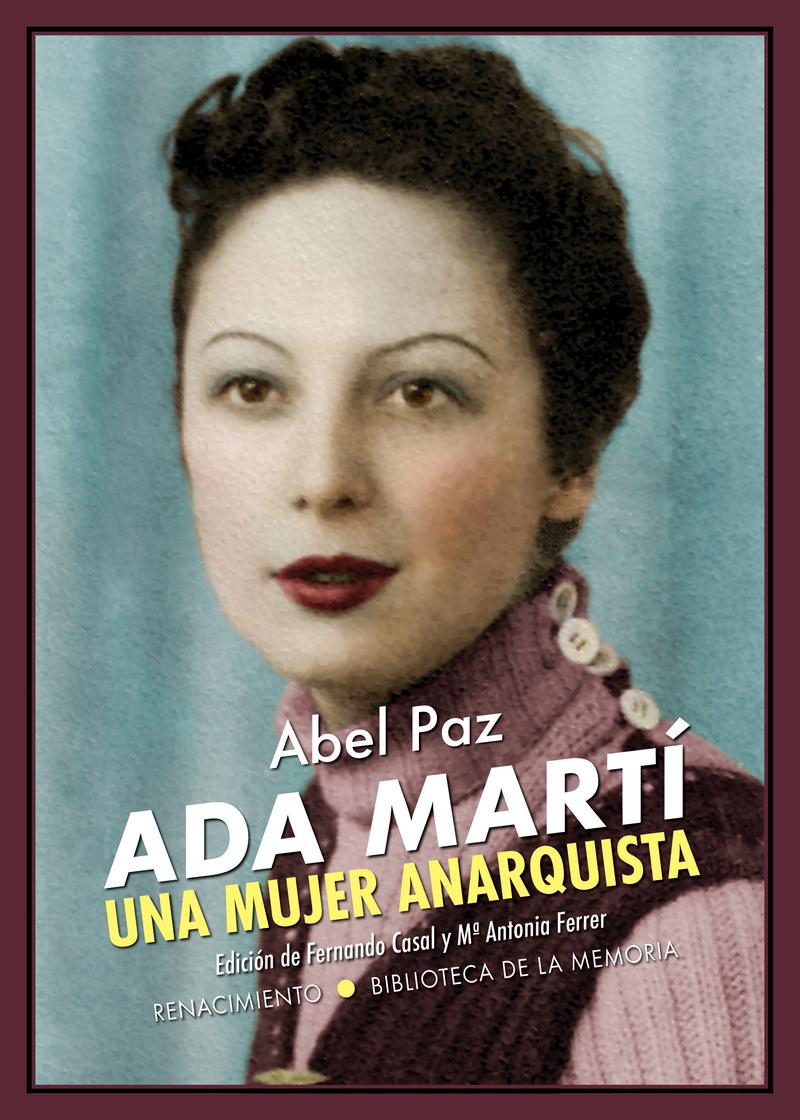 Ada Martí. Una mujer anarquista: portada