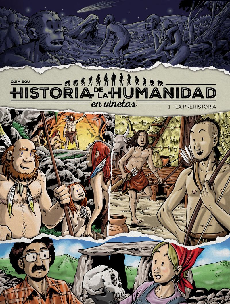 Historia de la humanidad en viñetas: portada