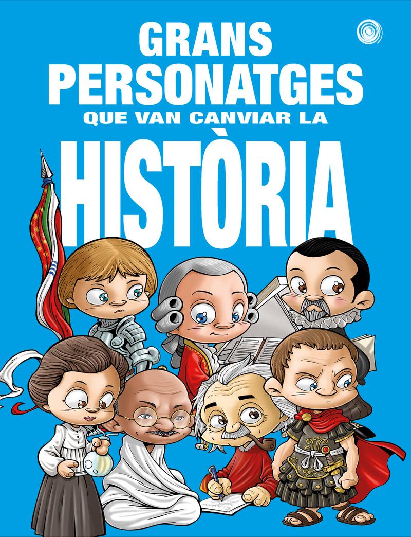 Grans personatges que van canviar la historia: portada
