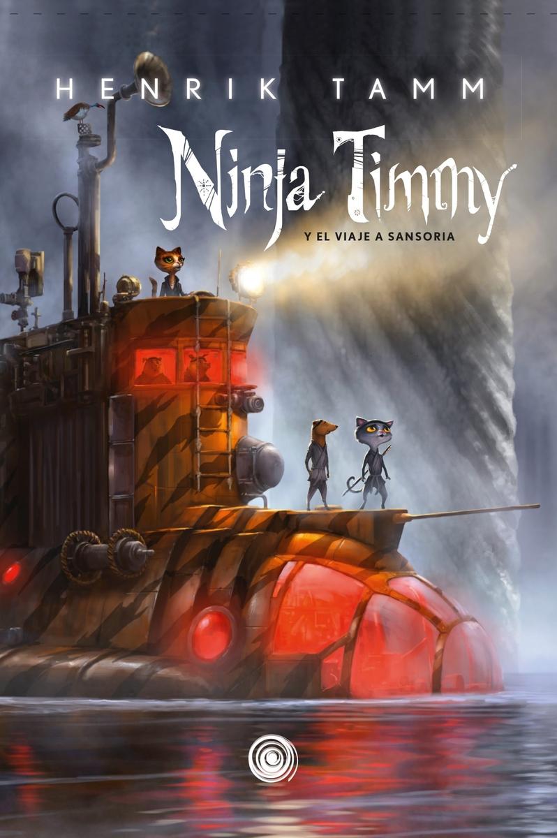 Ninja Timmy: portada