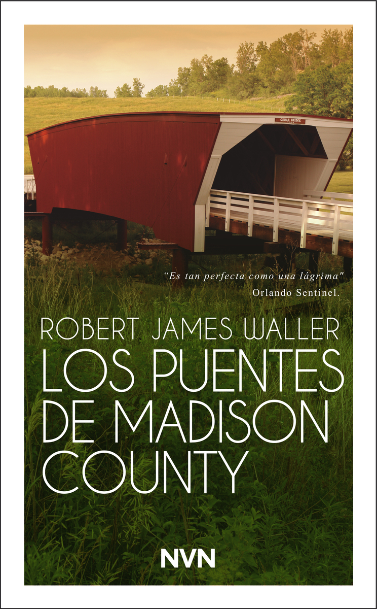 Los puentes de Madison County: portada